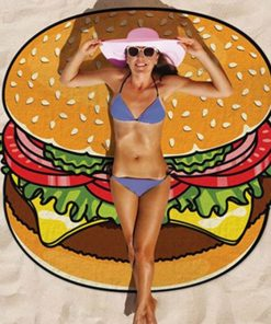 Gigantic Food Beach Blanket