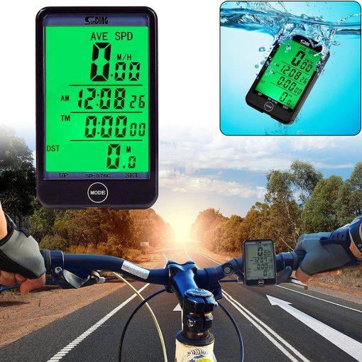 Wireless Cycling Speedometer