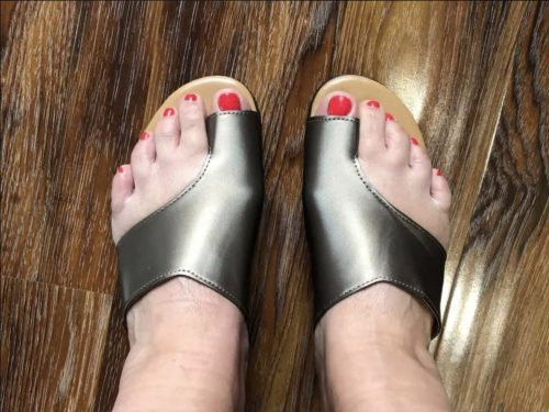 CurePath™ Orthopedic Premium Toe Corrector Bunion Comfy Foot Sandals photo review