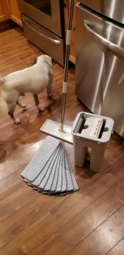 Ketta Magic Mop - 4 in 1 Compact Multi-Functional Comfortable Cleaning Mop photo review